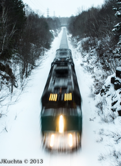 Solitude and Trains